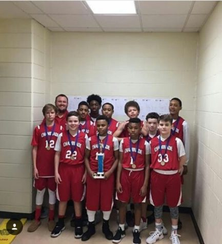 Middle School Basketball Team Shoots for Perfect Season