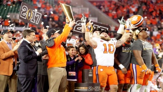 Top 5 Championships: #4, the Clemson Tigers