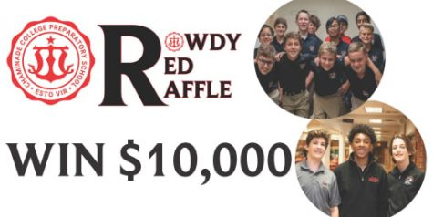 Rowdy Red Raffle Kick Off