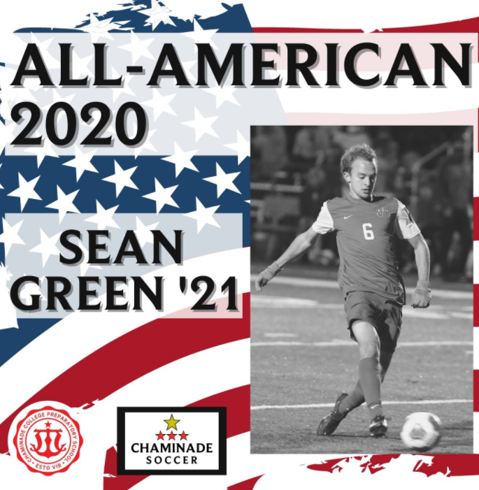 Sean Green Named to the Soccer All American Team